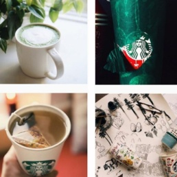 case study starbucks instagram