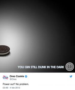 Tweet Oreo Cookie